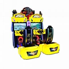 Indoor amusement coin operated  simulator arcade outrun racing game