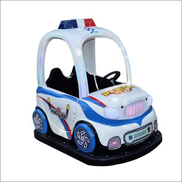 小孩騎儿童碰碰車電玩 3