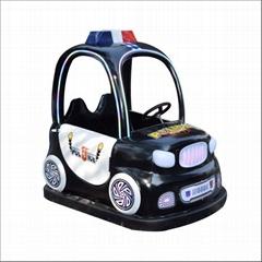 Little kid amusement park battery bumper car game machine