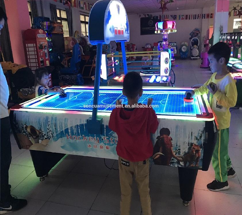 空氣曲棍球桌遊戲機 3