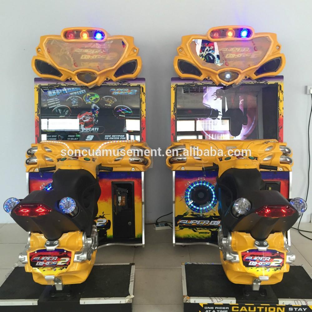FF摩托成人街机游戏机 4