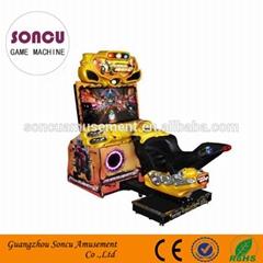 FF motorcycle adult arcade game machine