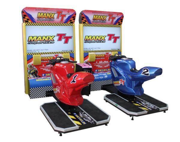 双人TT摩托街机赛车游戏机 1
