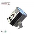 New Design Mini DJ Par QUAD Wireless Battery Powered DMX  LED  Stage Truss Par  2