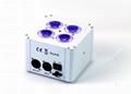 4PCS 18W Mini led battery wireless dmx