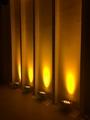 Popular hot Wireless battery DMX 9x18W RGBAWUV 6in1 LED uplight Flat Par wedding 5