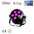 IP65 waterproof outdoor wedding dj club event stage led par can light 6x18w   2