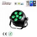 IP65 waterproof outdoor wedding dj club event stage led par can light 6x18w   4