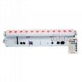 12pcs led battery wireless dmx bar light