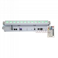 12pcs led battery wireless dmx bar light wall washer with remote control  2