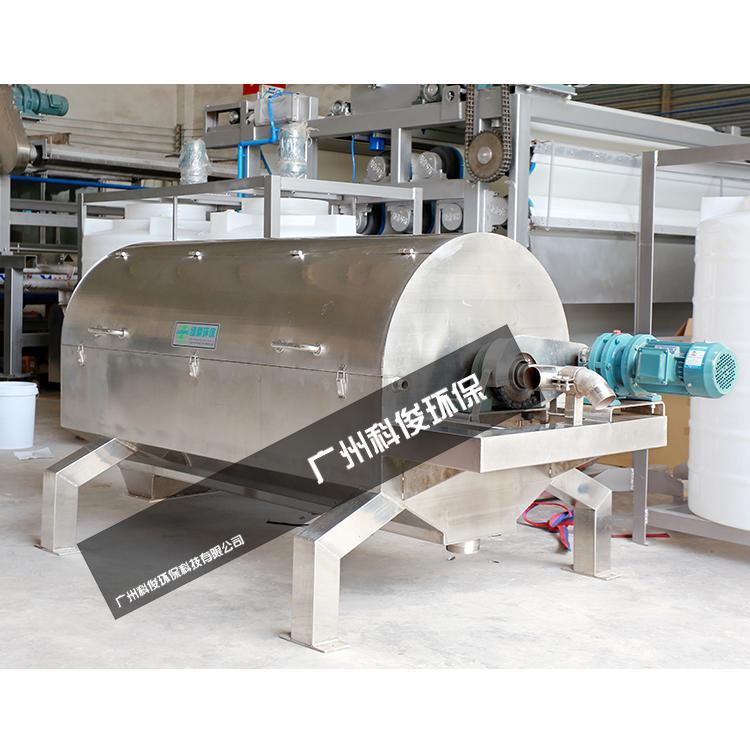 塑料纸浆挤压脱水机 1