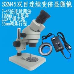 連續變倍體視顯微鏡