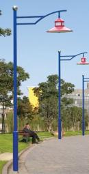 太陽能路燈景觀燈庭院燈地埋燈工礦燈廠家直銷 5