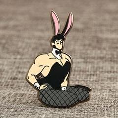 Bunny Boy Custom Lapel Pins