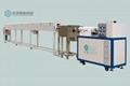 臣澤臥式單色硅膠擠出生產線 2