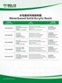 水性丙烯酸樹脂 2