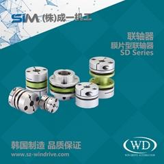 SD SHD 膜片型联轴器