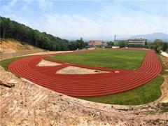 培元中学全塑型跑道全项检测通过新国标检测