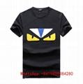Wholesale Fendi T Shirt Men Fendi Short Sleeve Tees Fendi T shirst Women