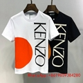 Kenzo Women's  Tiger Head Tee shirt Paris short sleeve cotton t-shirt men cheap