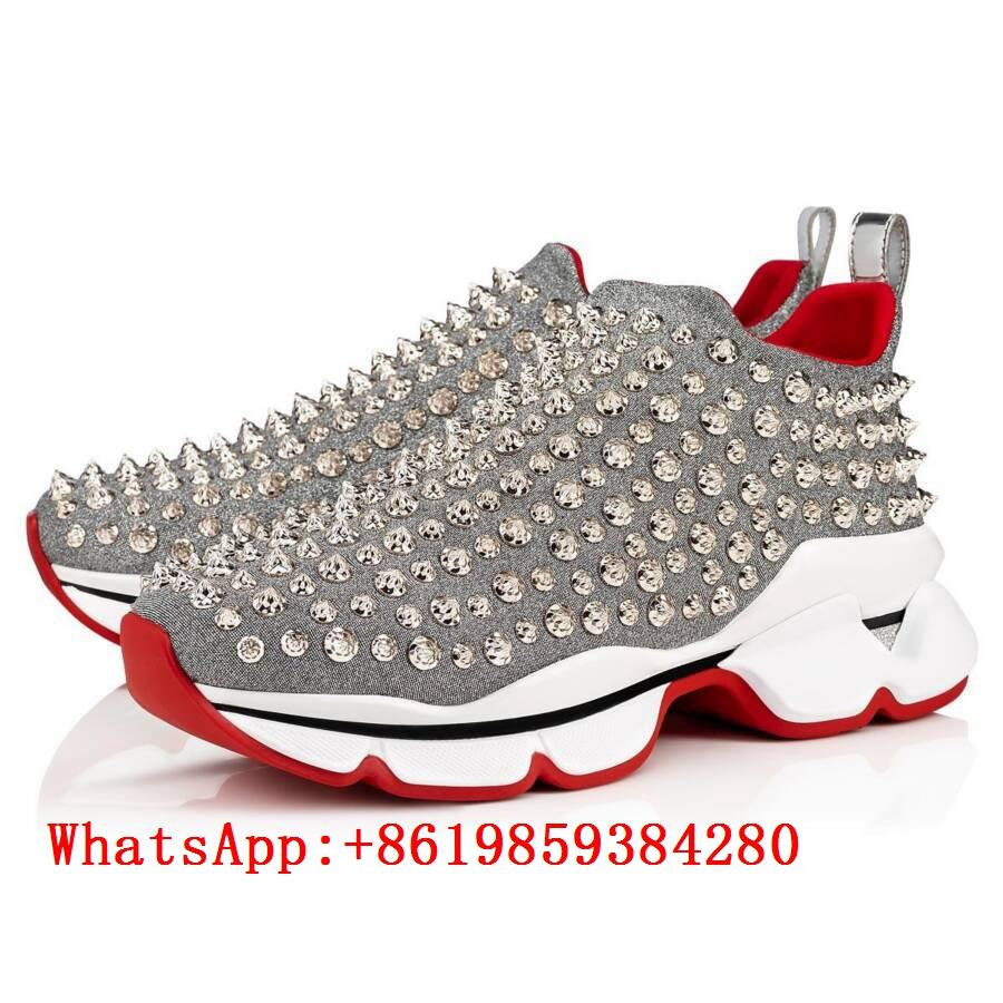 premium selection 44ef8 ae7df Christian Louboutin shoes CL sneaker CL Leisure shoes men ...