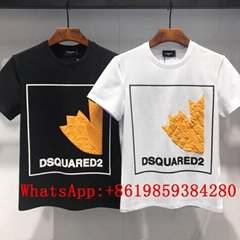 New DSQUARED2 Men Printed Round neck short sleeve tee T-Shirt Cotton DSQ Tshirst (Hot Product - 1*)