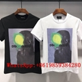 New DSQUARED2 Men Printed Round neck short sleeve tee T-Shirt Cotton DSQ Tshirst