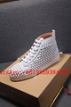 Christian Louboutin shoes CL Spikes Shoes CL Red Sole CL High tops Sneakers rive