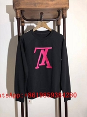Supreme Louis Vuitton hoodies Sweatshirt LV Cotton Knitwear Sweatshirt supreme