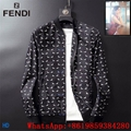 Fendi Jacket Fendi windbreaker Fendi Men's Mania Wind-Resistant Jacket cheap