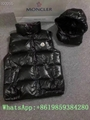 Moncle-r down Vest moncl-er Ghany Water Resistant Shiny Nylon Down Puffer Vest 11