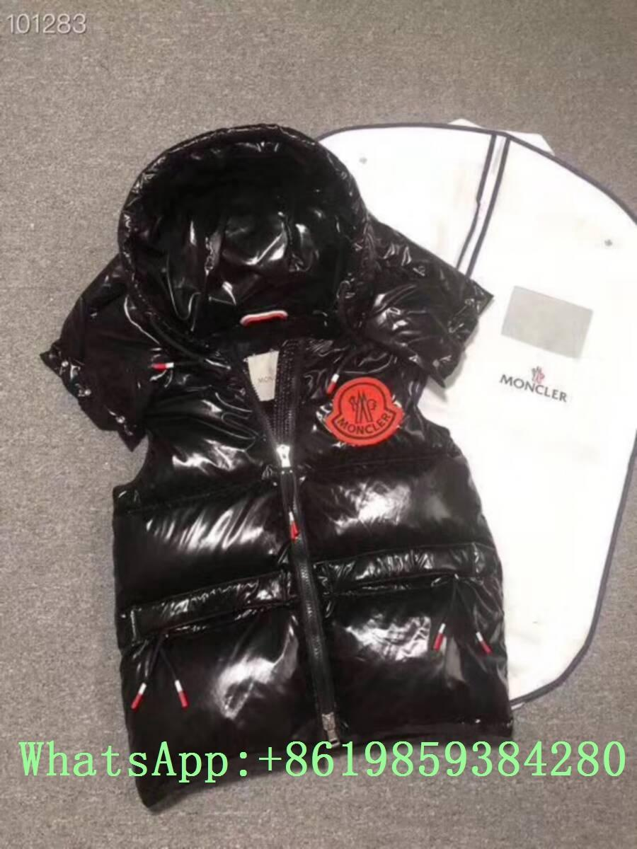 Moncle-r down Vest moncl-er Ghany Water Resistant Shiny Nylon Down Puffer Vest 14