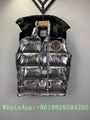 Moncle-r down Vest moncl-er Ghany Water Resistant Shiny Nylon Down Puffer Vest 16