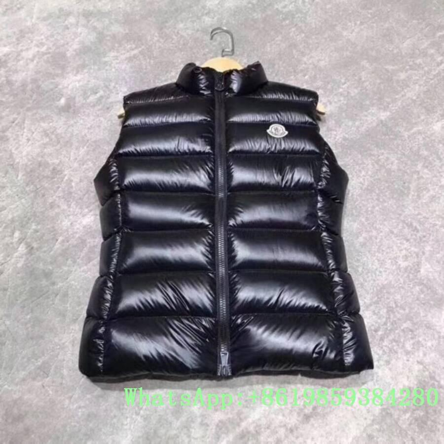 Moncle-r down Vest moncl-er Ghany Water Resistant Shiny Nylon Down Puffer Vest 17