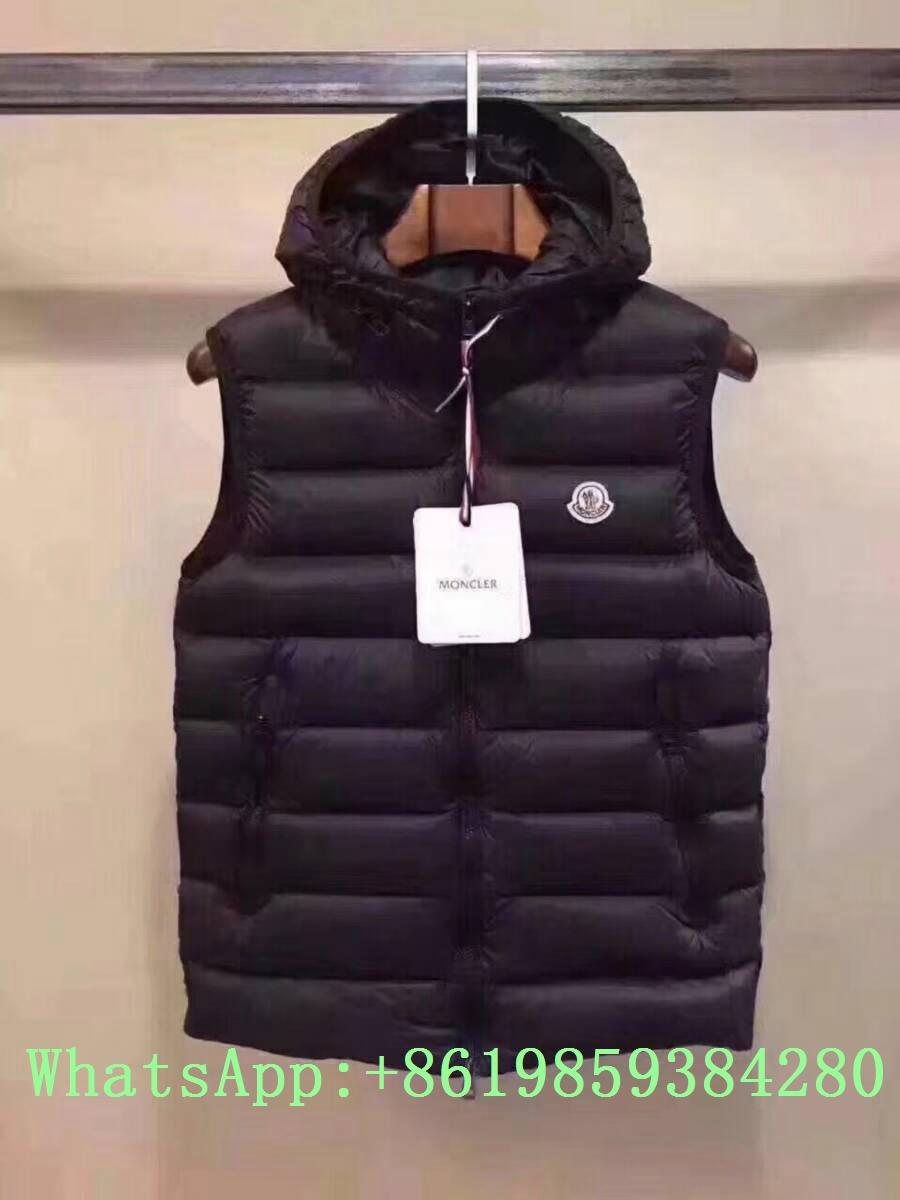 Moncle-r down Vest moncl-er Ghany Water Resistant Shiny Nylon Down Puffer Vest 8