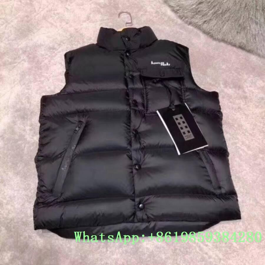 Moncle-r down Vest moncl-er Ghany Water Resistant Shiny Nylon Down Puffer Vest 18