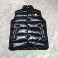 Moncle-r down Vest moncl-er Ghany Water Resistant Shiny Nylon Down Puffer Vest 20