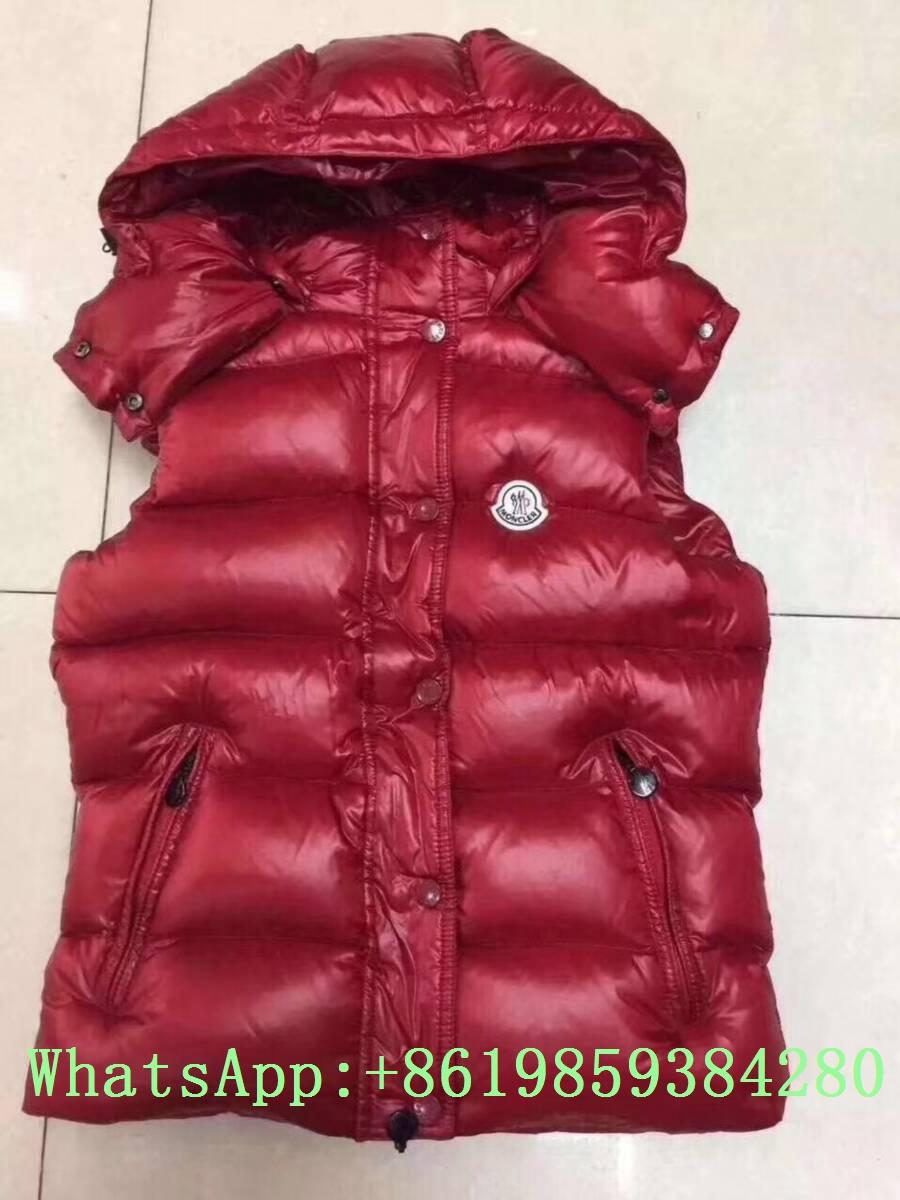 Moncle-r down Vest moncl-er Ghany Water Resistant Shiny Nylon Down Puffer Vest 10