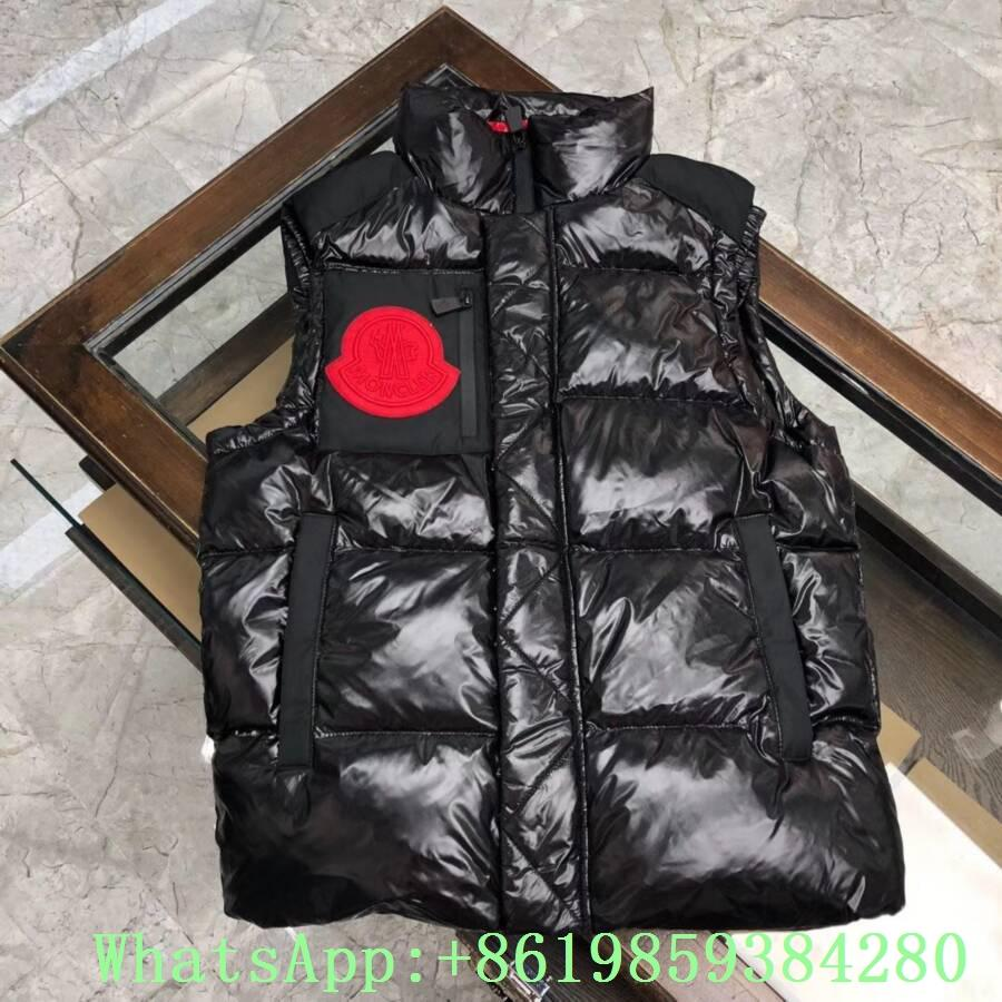 Moncle-r down Vest moncl-er Ghany Water Resistant Shiny Nylon Down Puffer Vest 6