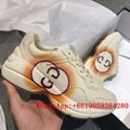 GG New Rhyton collection of double G logo printed sneakers retro make old sneake