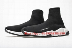 Balencia-ga sock shoes BB sneaker BB Speed Trainers Sock  Boots Luxury Shoes