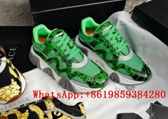 Versace Shoes Versace Chain Reaction Sneakers loafers versace chain sneakers