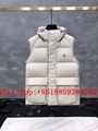 Moncle-r down Vest moncl-er Ghany Water Resistant Shiny Nylon Down Puffer Vest 2