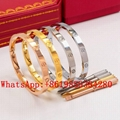 Wholesale Cartier Bracelet Cartier Ring Cariter Necklace Luxury jewelry Cariter
