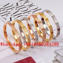 Wholesale Cartier Bracelet Cartier Ring Cariter Necklace Luxury jewelry Cariter (Hot Product - 1*)