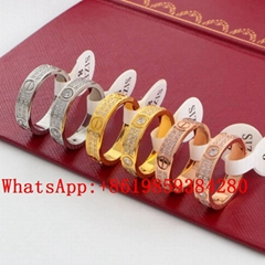 wholesale Cartier Ring Cartier Bracelet Cariter Necklace Luxury jewelry Carite