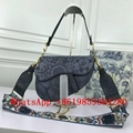 Christian Dior Saddle Calfskin bag dior Oblique bag Mini saddle bag shoulder bag