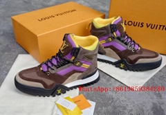 Louis Vuitton shoe LV Sneaker boot LV high for men's boots LV Hiking Ankle Boot  (Hot Product - 2*)