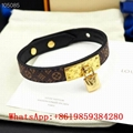 Louis Vuitton Jewelry LV Nano Monogram bracelet LV Cuff Bangle Confidentialnt
