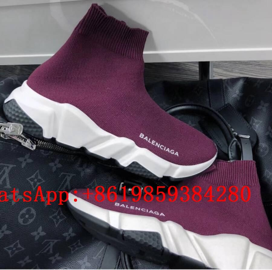 BB speed sock shoes BB stretch knit slip sneaker BB Speed high top sneakers 7